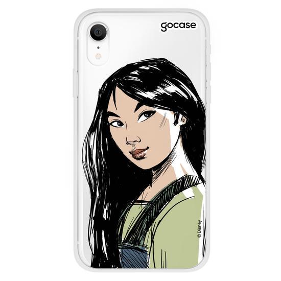 Capinha para celular Princesas - Mulan