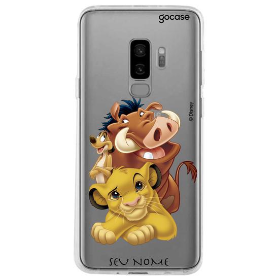 Capinha para celular Disney - Rei Leão - Hakuna Matata