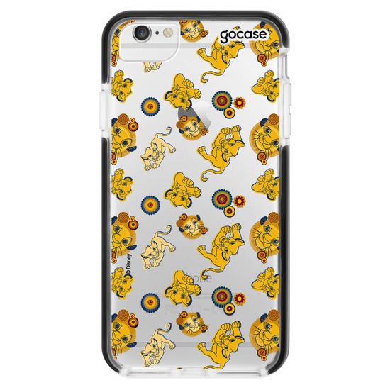 Capinha para celular Disney - Rei Leão - Simba Pattern