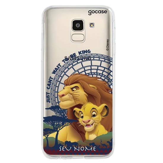 Capinha para celular Disney - Rei Leão - Quero Ser Rei