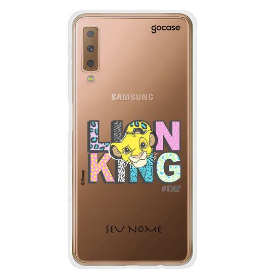 Capinha para celular Disney - Rei Leão - Lion Fashion