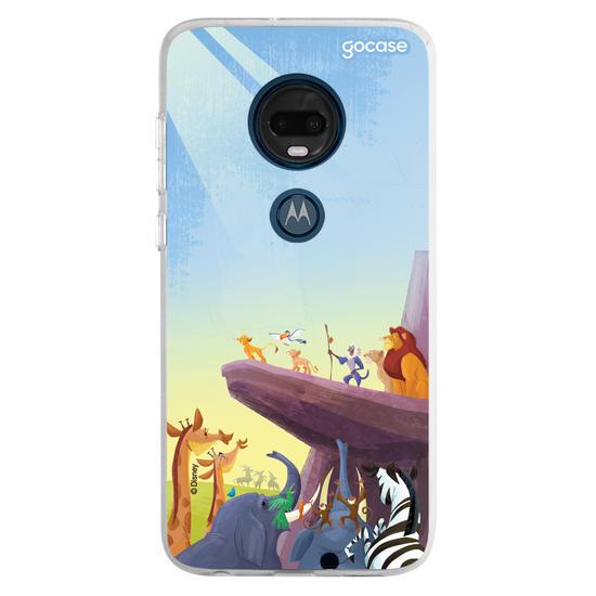 Capinha para celular Disney - Rei Leão - Onde o Sol Toca