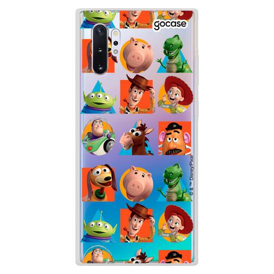 Capinha para celular Disney - Toy Story Mosaico