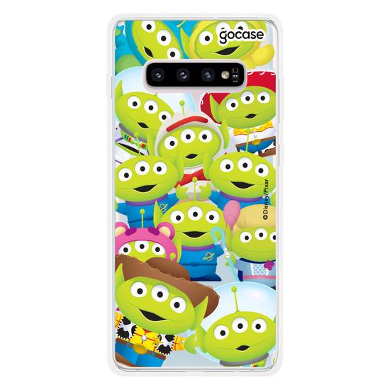 Capinha para celular Disney Toy Story - Alien Patches
