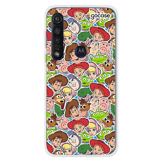 Capinha para celular Disney Toy Story - A turma toda patches