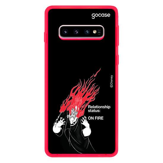 Capinha para celular Disney - Hades On Fire
