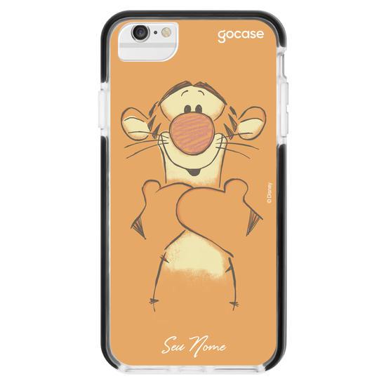 Capinha para celular Ursinho Pooh - Tigrão