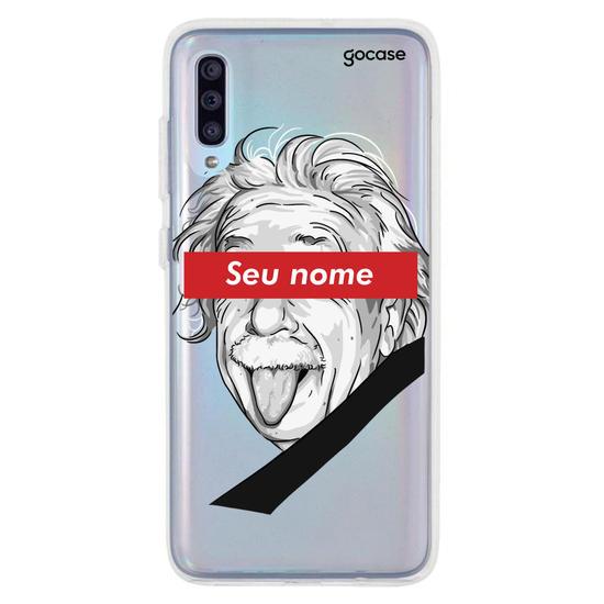 Capinha para celular Einstein