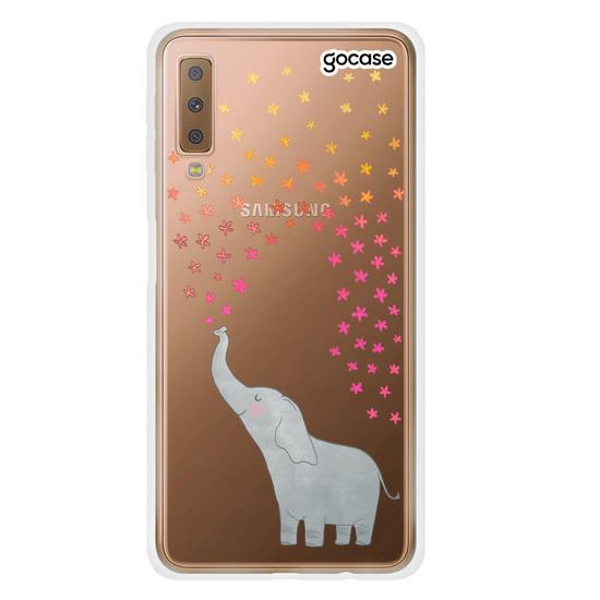 Capinha para celular Elefante Estrela