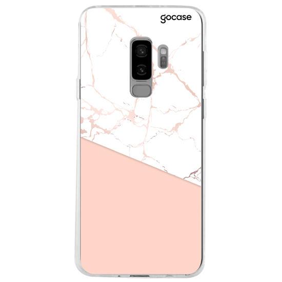 Capinha para celular Elegance Rosé Personalizável