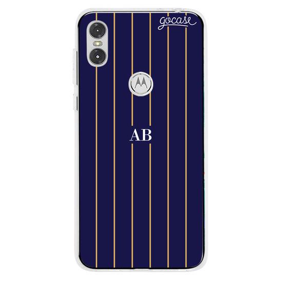 Capinha para celular Elegance Stripes Personalizada