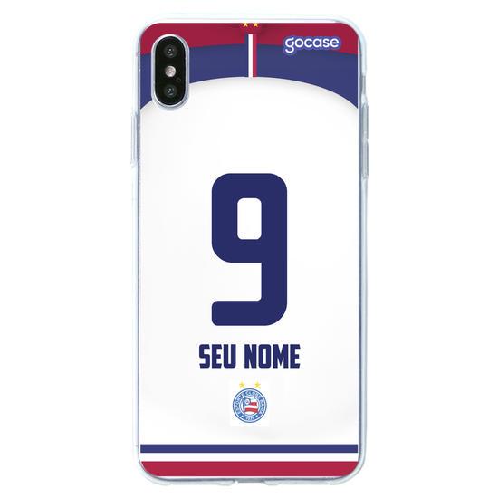 Capinha para celular ESPORTE CLUBE BAHIA UNIFORME I Personalizado