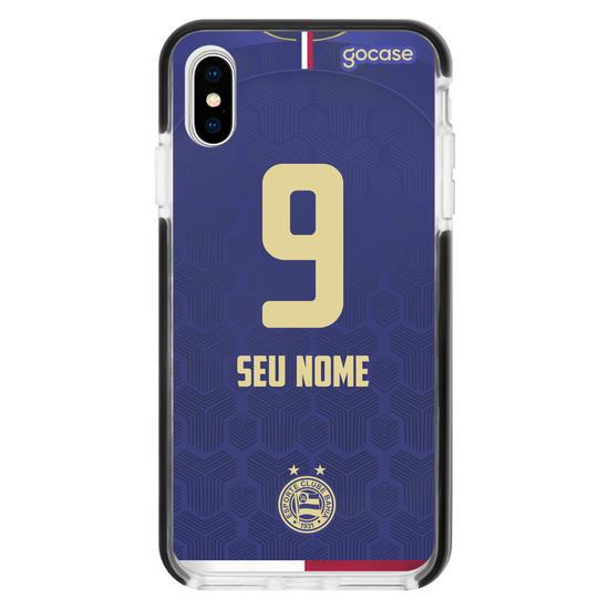Capinha para celular ESPORTE CLUBE BAHIA UNIFORME III Personalizado
