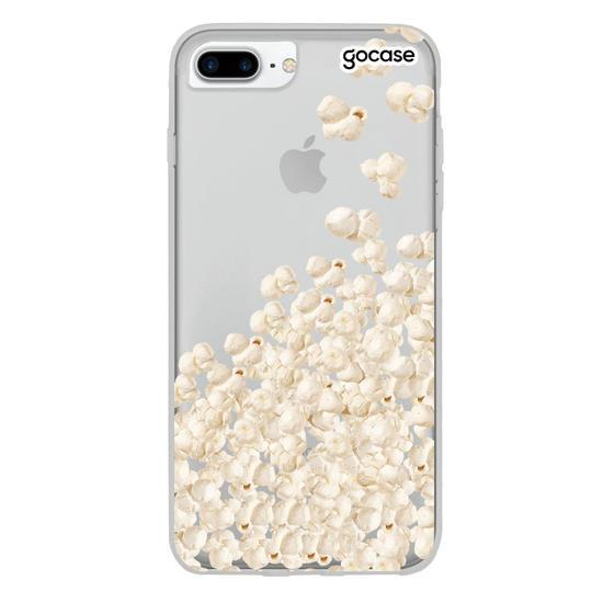 Capinha para celular Eu Amo Pipoca