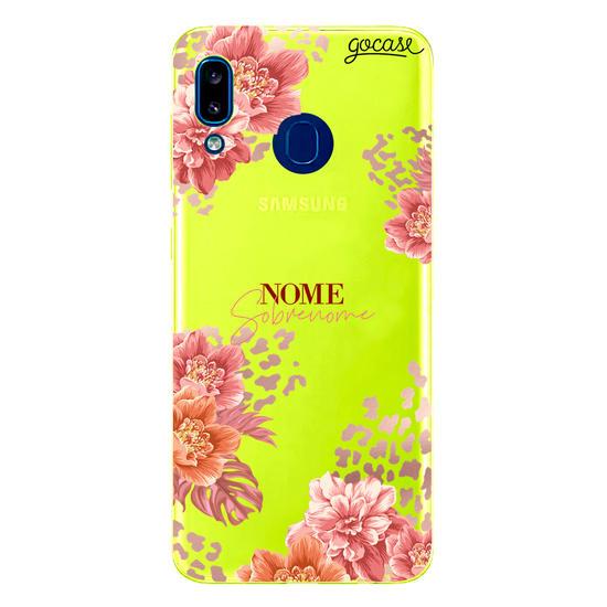 Capinha para celular Fancy Floral Personalizada