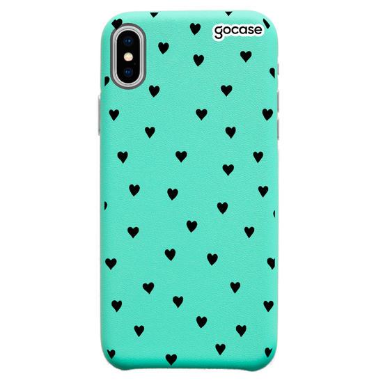 Capinha para celular Fascino - Black Hearts
