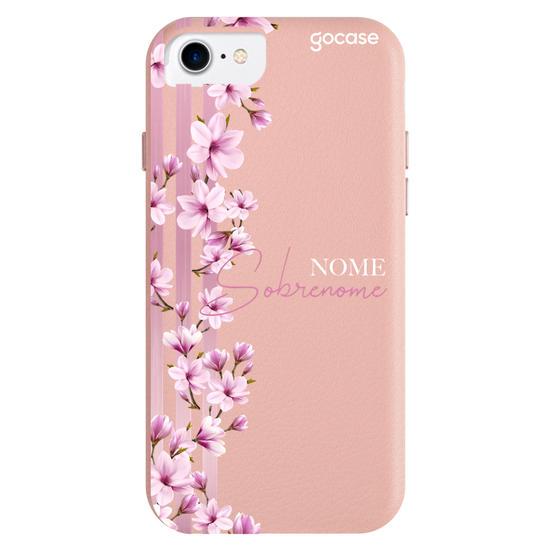 Capinha para celular Fascino - Floral Lines Personalizada