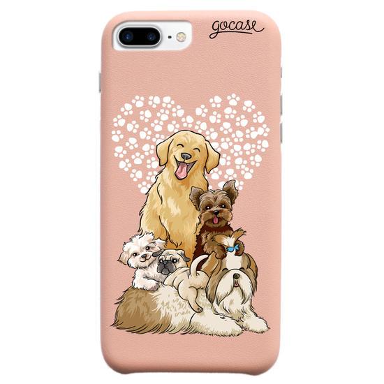 Capinha para celular Fascino - Fofura de Cachorros