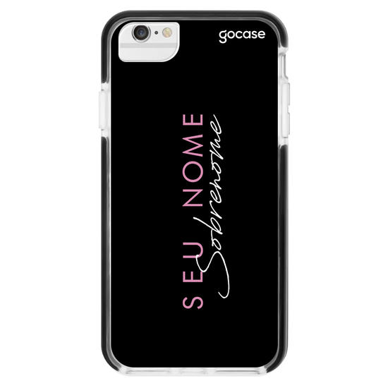 Capinha para celular FASHION GIRL BLACK