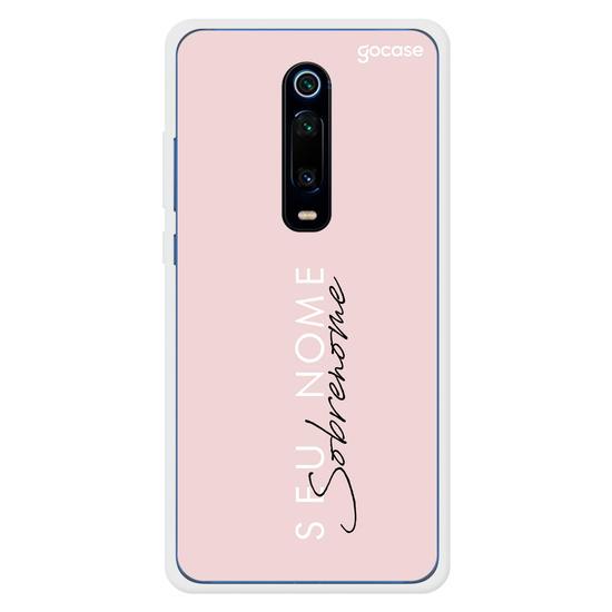 Capinha para celular FASHION GIRL PINK