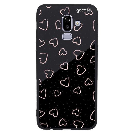 Capinha para celular Fashion Hearts Personalizável