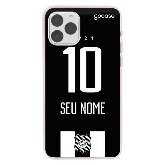 Capinha para celular Figueirense - Uniforme 1 - 2020 - Personalizado
