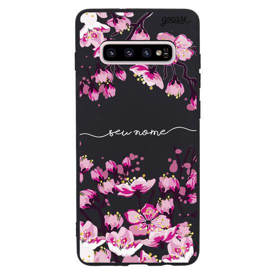 Capinha para celular Flor de cerejeira Manuscrita