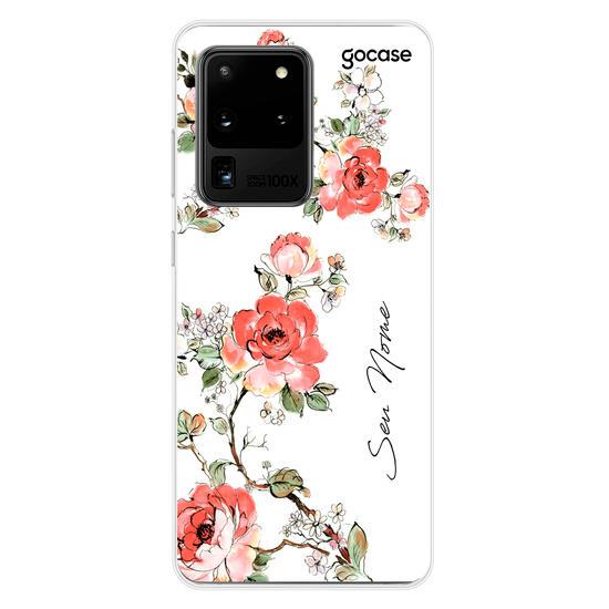 Capinha para celular Floral Clássico Vintage