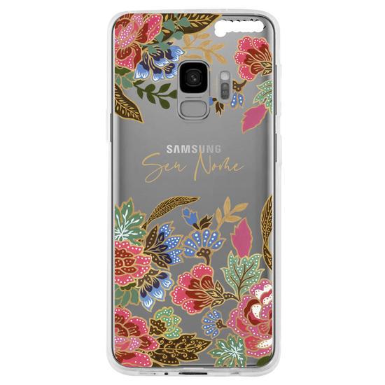 Capinha para celular Floral Decor