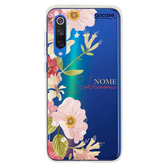 Capinha para celular Floral Fancy