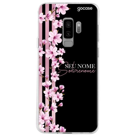 Capinha para celular Floral Lines Personalizado