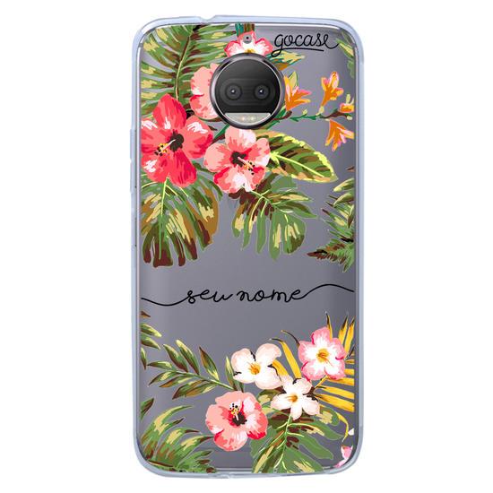 Capinha para celular Floral Manuscrita