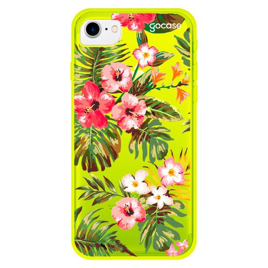 Capinha para celular Floral