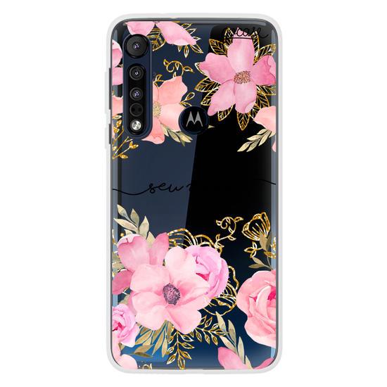 Capinha para celular Flores Royale Manuscrita