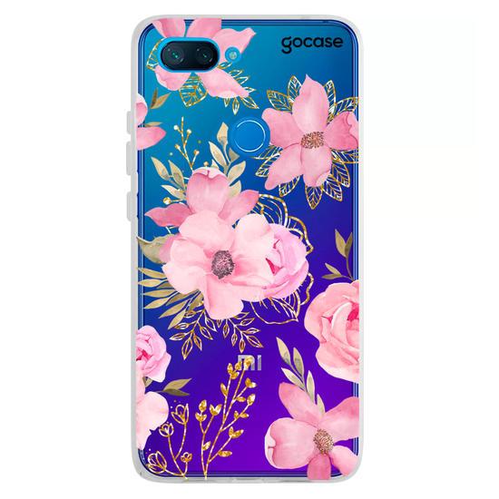 Capinha para celular Flores Royale