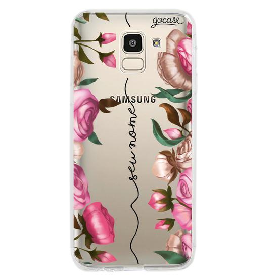 Capinha para celular Flores Verticais