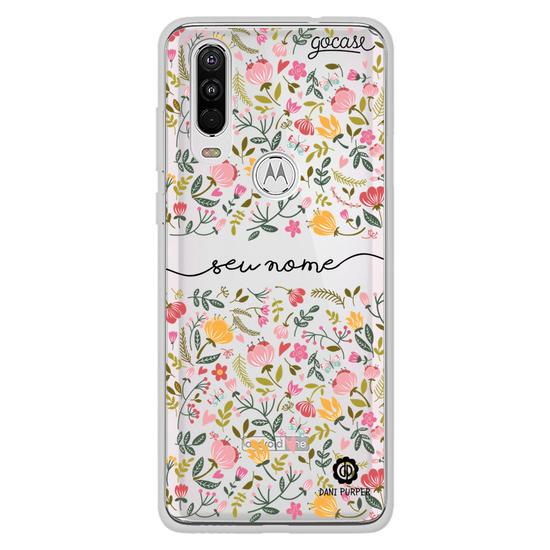 Capinha para celular Florzinha