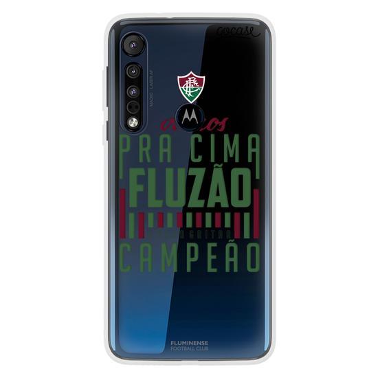 Capinha para celular Fluminense - Pra Cima Fluzão