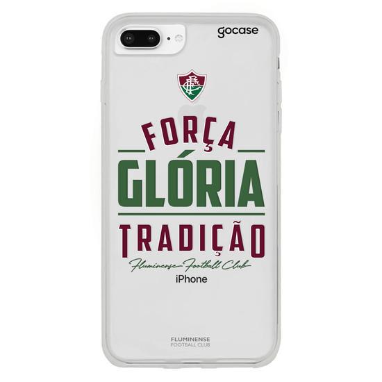 Capinha para celular Fluminense - Força, Glória e Tradição