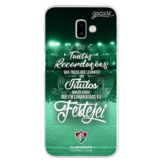 Capinha para celular Fluminense - São Tantas Recordações
