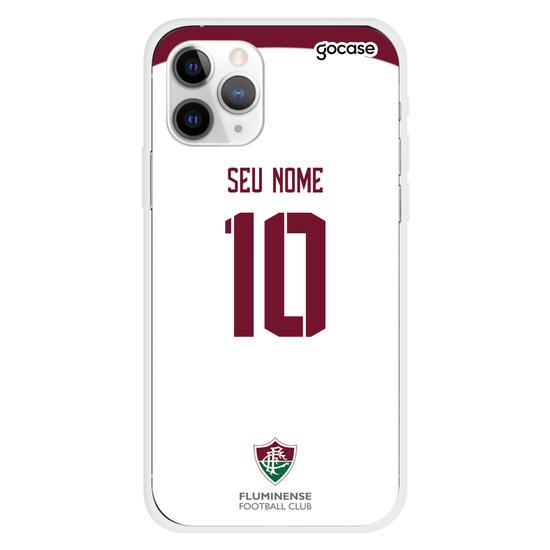 Capinha para celular Fluminense - Uniforme 2 Personalizado