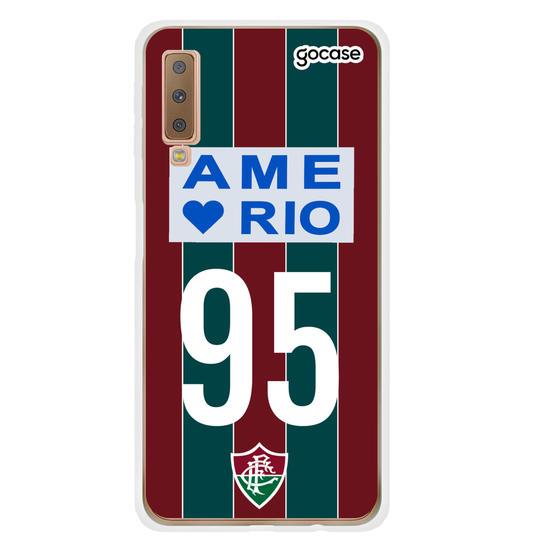 Capinha para celular Fluminense - Uniforme Retrô 95