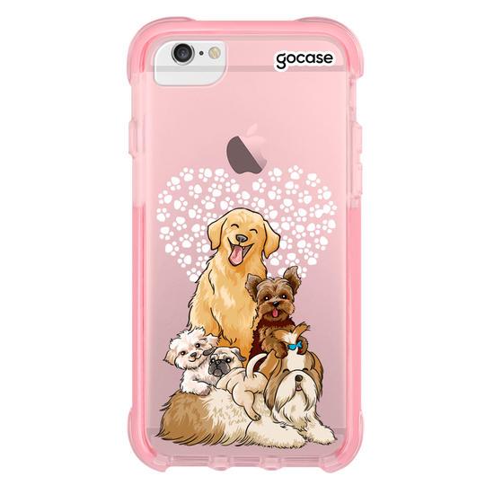 Capinha para celular Fofura de Cachorros