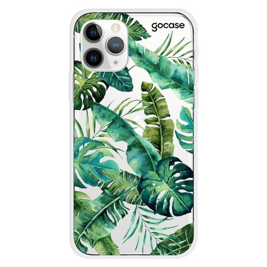 Capinha para celular Folhagem Tropical