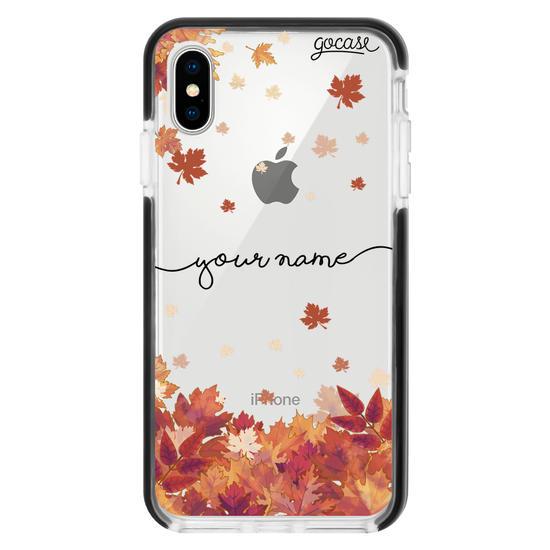 Autumn Leaves Handwritten Phone Case