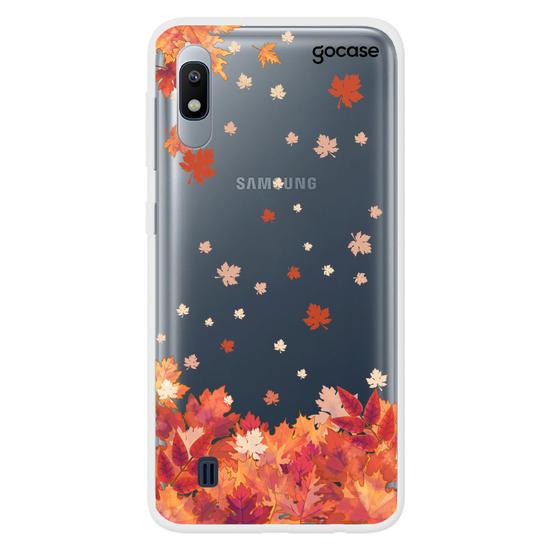 Capinha para celular Folhas do Outono