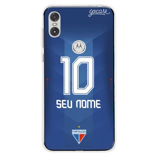 Capinha para celular Fortaleza - Uniforme Xodó Azul - Personalizado