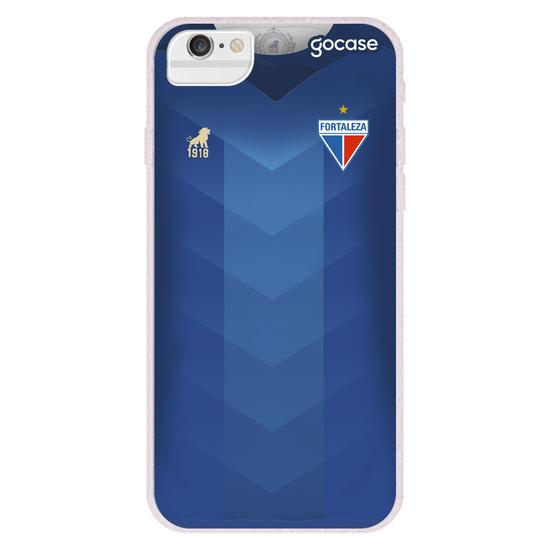 Capinha para celular Fortaleza Uniforme Xodó Azul
