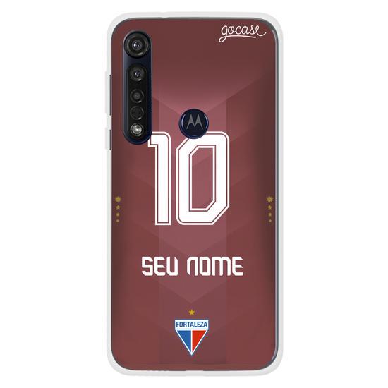 Capinha para celular Fortaleza - Uniforme Xodó Vermelho - Personalizado