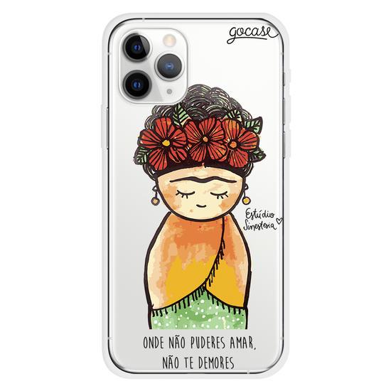 Capinha para celular Frida Khalo
